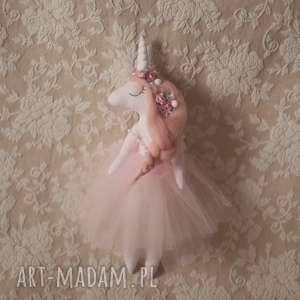 handmade lalki magiczna bajka - lalka różany jednorożec