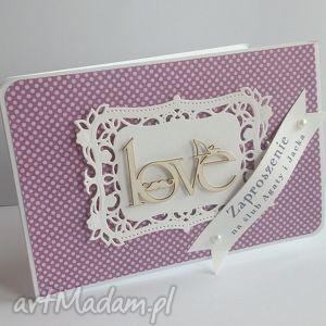 Zaproszenie na ślub - 4 - ,zaproszenie,ślub,wesele,kartka,