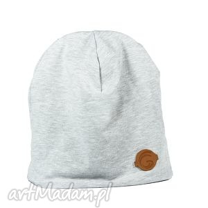 Ciepła czapka szara, ciepła,