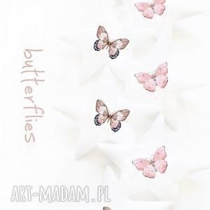 Butterfly - girlanda motyle pokoik dziecka pracowniaktorejniema