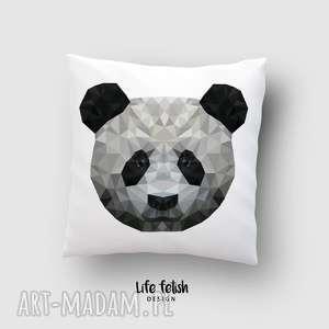 poduszka z pandą, poduszka, panda, zpandą, zoo, miś, dladziecka, pod choinkę prezent