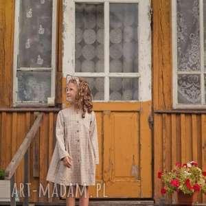 Sukienka Retro Style, sukienka, vintage, dziewczynka, retro, bawełna, krata