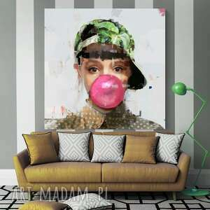 obraz na płótnie gooma 100x100 cm - skandynaski, nowoczesny, obraz, prezent