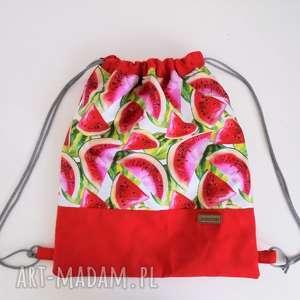 wyjątkowy prezent, plecak-worek, plecak, worek plecak na sznurkach