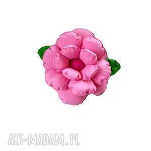 poduszka ozdobna kwiat jasny róż, kwiatek, kwiat