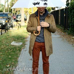plufpluf space invaders parasol długi, parasol, parasolka, modne, prezent, śmieszne