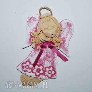 ręcznie zrobione dla dziecka taka gabrysia - aniołek masy solnej