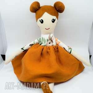 lalka z imieniem, szmaciana personalizowana, zabawka dla dziewczynki