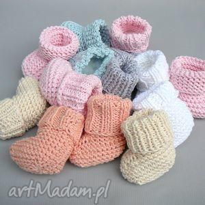 buciki skarpetki newborn, skarpety, noworodek, bawełna, narodziny, prezent