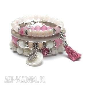 ki ka pracownia pink and ivory - vol 25 /23-07-19/, jadeity, howlity, rzemień