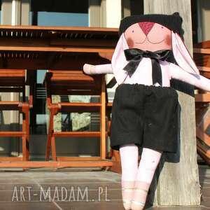 zajączek leniwy lucjan, maskotka, przytulak, zajączek, lalka, zabawka, pluszak