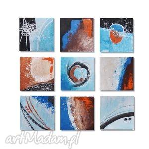 obrazy abstrakcja 9bb, nowoczesny obraz ręcznie malowany, obraz, ręcznie, malowany