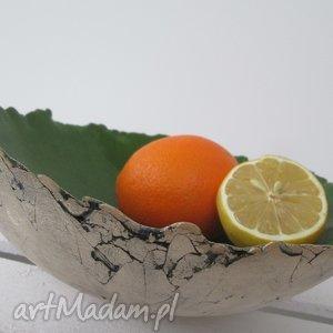 zielona sardynia, zielona, miska, ceramiczna, misa, minimalistyczna, nowoczesna
