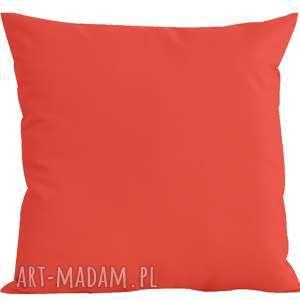 poduszki poduszka ogrodowa z wkładem 45x45cm na suwak - czerwona