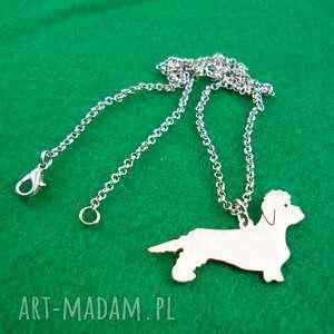 naszyjniki naszyjnik dandie dinmont terrier pies nr 69, naszyjnik, pies, rasy-psów