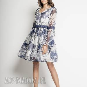 yuuko - jedwabna sukienka cocktailowa, sukienka, koktajlowa