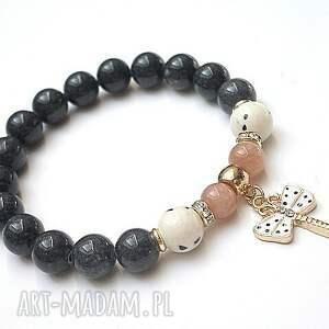 bransoletki ważka 10-06-16 - bransoletka, jadeity, biżuteria