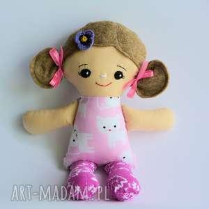 cukierkowa lala s - ludwika 30 cm, cukierkowa, lalka, mniejsza, dziewczynka, kotek
