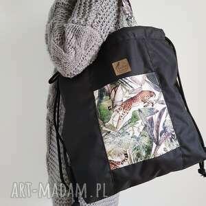 torba/ plecak 2w1 - wild jungle, torba, plecak, wild, 2w1, prezent