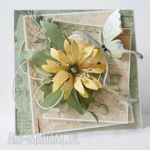 hand-made scrapbooking kartki ślubna kartka w pudełku