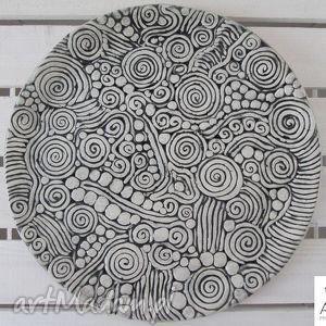 aztecka patera, ceramiczna, parapetówka, orientalna