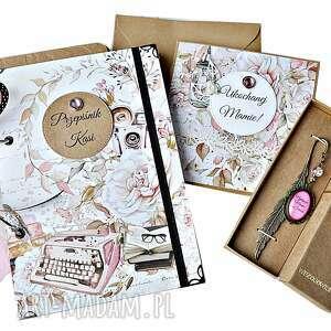 scrapbooking albumy piękny zestaw prezentowy na dzień matki, przepisy