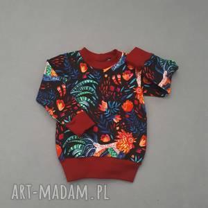folk bluza dla dziewczynki, dla-dziewczynki, bluza, bluzka, kwiaty, wiosenna, tshirt