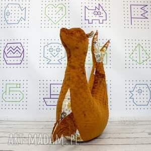 ręcznie zrobione dla dziecka foka rebeka vintage garden - poduszka do karmienia