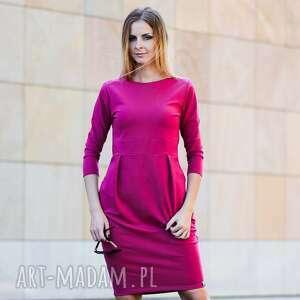 sukienki gentle sukienka dresowa, sukienka, klasyka, elegancka