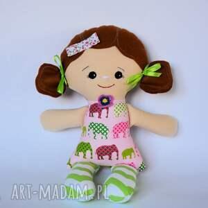 cukierkowa lala - tosia 40 cm, lalka, słonik, szczęście, kolorowa, chrzest, roczek
