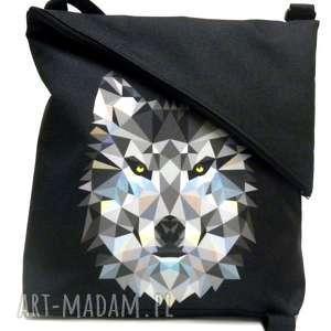 na ramię listonoszka, torba, wilk