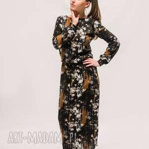 sukeinka na niepogodę, boho, folk, klasyczna sukienka, minimalistyczna, wiskoza
