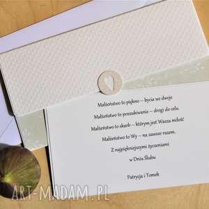 Kopertówka ślubna, ślub, młodej, parze, pamiątka, telegram