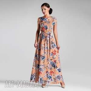 sukienka nerea maxi magdalena, sukienka, maxi, długa, kwiaty, lato, pasek