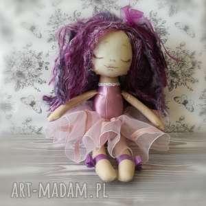 handmade lalki lalka szyta - mała rusałka