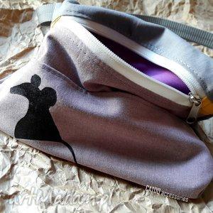 catoo accessories torebka biodrowa nerka mouse, nerka, saszetka, lato, prezent
