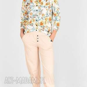 bluzki koszula gaja w kwiaty, bluzki, spodnie, sukienka, bluzy, komplet