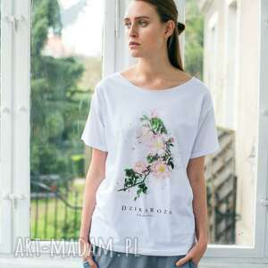 Dzika Róża Oversize T-shirt, oversize