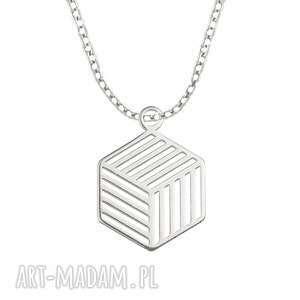 celebrate - cube - necklace - łańcuszek celebrytka