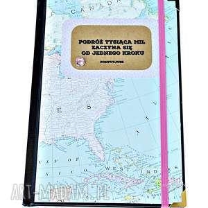 kalendarz motywujący - podróż tysiąca mil, kalendarz, 2019, motywujący, mapy
