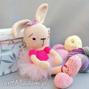 Prezent Zającowa Gabrysia, zając, lalka, przytulanka, prezent, dziewczynka