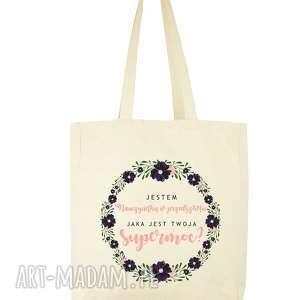 torba eko na zakupy jestem nauczycielką w przedszkolu, jaka jest twoja supermoc