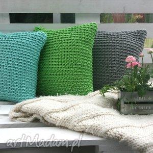 zestaw poduszek 3 sztuki, wiosna, zielony, poduchy