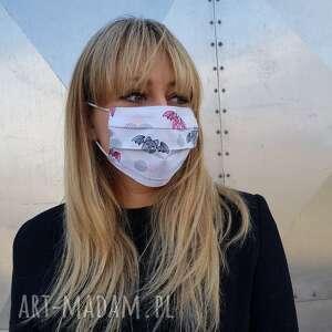 Weoła maseczka do twarzy nietoperze bawełniana ochronna maska