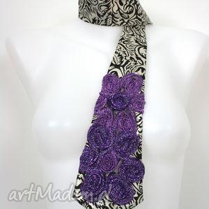 ręczne wykonanie krawaty krawat damski