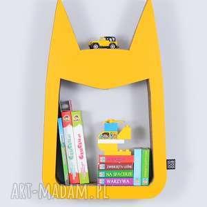 Półka na książki zabawki HERO ecoono | żółty, półka, chłopiec, dziewczynka, porząd