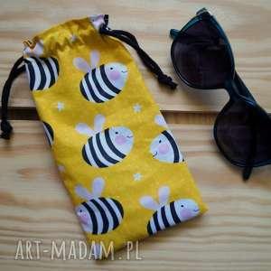 hand-made etui / bawełniany woreczek na okulary
