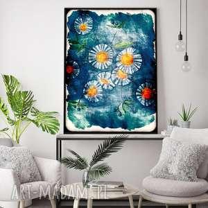 maki a3, kwiaty, łąka, obraz, plakat, rysunek, świąteczny prezent