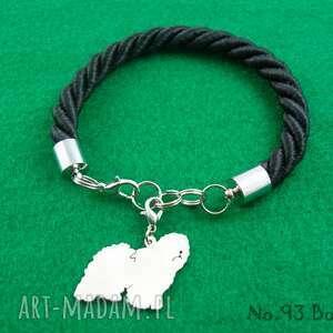 Bransoletka owczarek staroangielski bobtail pies nr.93, bransoletka, pies, rasy-psów