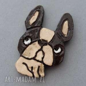 świąteczny prezent GACEK=BROSZKA CERAMIKA, prezent, minimalizm, święta, pies